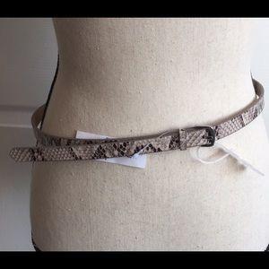 Old Navy Snake Skin Belt L/XL